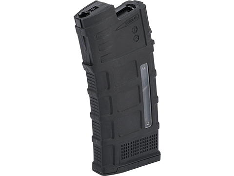 Avengers Polymer Magazine for AUG Series Airsoft AEG Rifles (Color: Black / 370rd High-Cap)
