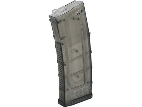 Avengers Polymer Magazine for M4/M16 Series Airsoft AEG Rifles (Color: Translucent Green / 120rd Mid-Cap)
