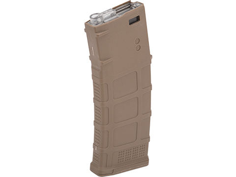 Avengers Polymer Magazine for M4/M16 Series Airsoft AEG Rifles (Color: Tan / 370rd Flash Mag)