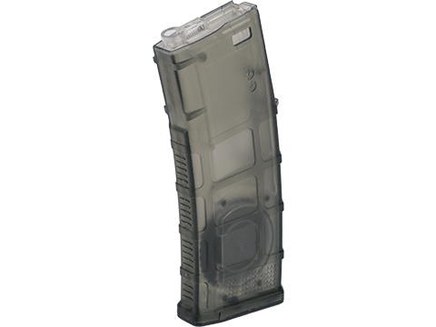 Avengers Polymer Magazine for M4/M16 Series Airsoft AEG Rifles (Color: Translucent Green / 370rd Flash Mag)