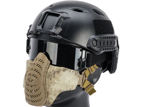 Matrix Low Profile Tactical Padded Lower Half Face Mask (Color: ATACS AU)