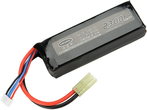 Matrix High Performance 11.1V Brick Type Airsoft LiPo Battery (Configuration: 2300mAh / 20C / Small Tamiya)