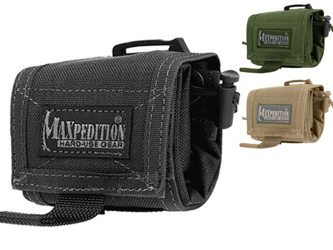Maxpedition Rollypoly� Folding Dump Pouch (Color: Tan)
