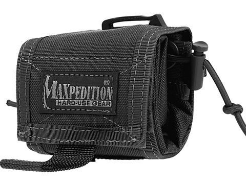 Maxpedition Rollypoly� Folding Dump Pouch (Color: Black)