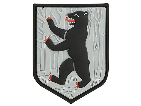 Maxpedition Bear PVC Morale Patch (Color: SWAT)