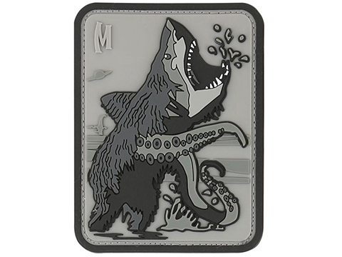 Maxpedition Bear Sharktopus PVC Morale Patch (Color: SWAT)