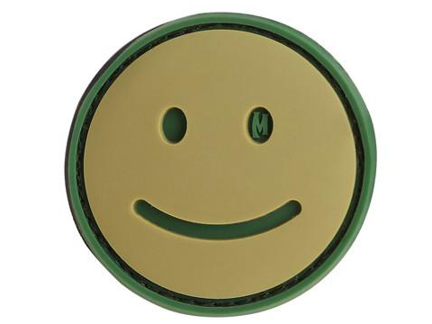 Maxpedition Happy Face PVC Morale Patch