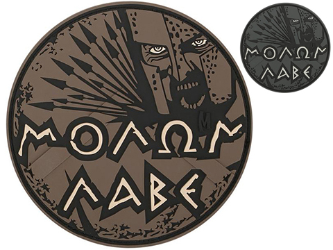 Maxpedition Molon Labe PVC Morale Patch (Color: Arid)