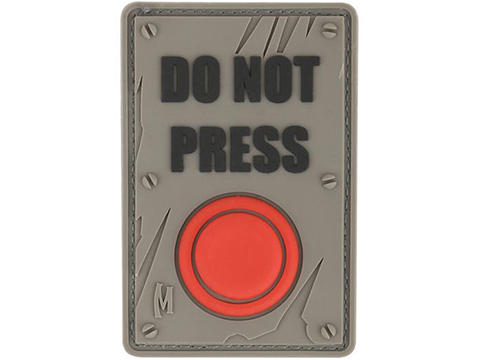 Maxpedition DO NOT PRESS PVC Morale Patch (Color: SWAT)