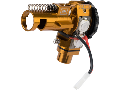 Maxx Model CNC Aluminum Hopup Chamber for M4 / M16 Series Airsoft AEG Rifles (Model: MI - SPORT w/ LED)