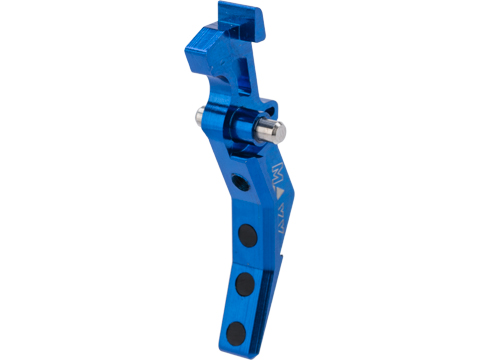 Maxx Model CNC Aluminum Tunable Advanced Trigger for M4 / M16 Series Airsoft AEG (Style: B / Blue)