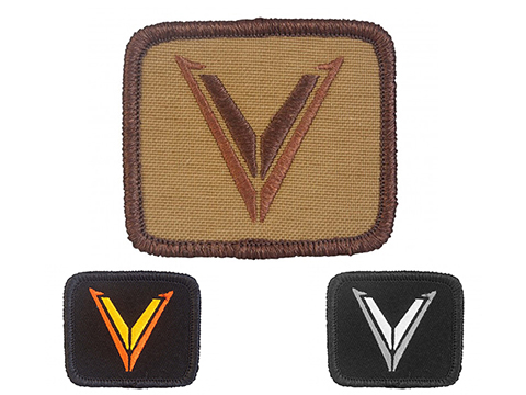 Velocity Systems Embroidered Hook & Loop Morale Patch (Color: Coyote Brown)