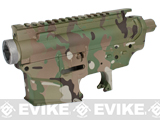 DYTAC Metal Receiver for M4 / M16 Series Airsoft AEG Rifles - Multicam