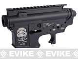 G&P Full Metal M4 M16 Airsoft AEG Custom Metal Receiver - Lead The Way Special Edition