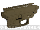 "G&P ""Magpul"" Aircraft Aluminum Metal Receiver for M4 M16 Series Airsoft AEG Rifles - Dark Earth"