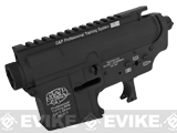 G&P Advanced Type Aircraft Aluminum Metal Receiver for M4 M16 Series Airsoft AEG Rifles - Black