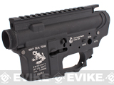 G&P Full Metal Receiver for M4 / M16 Series Airsoft GBB Rifles - Navy Seal Skull Frog