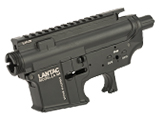 Madbull Licensed Full Metal LANTAC Ver. 2 Receiver for M4/M16 Airsoft AEGs - Black