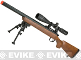 WELL MB02 Bolt Action Sniper Rifle (Color: Imitation Wood)