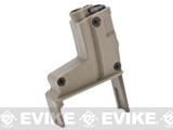 ICS Magazine Adapter for ICS Adaptive Airsoft AEG Drum Magazine - MP5 / Tan