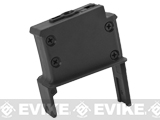 ICS Magazine Adapter for ICS Adaptive Airsoft AEG Drum Magazine - SIG / Black