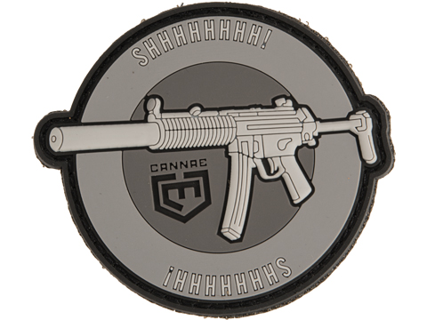 Cannae MP5SD SHHHHHHHH! PVC Morale Patch