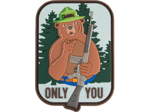Cannae Only You PVC Morale Patch