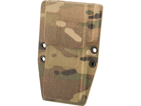 MC Kydex Messenger Radio Carrier for Baofeng UV5R w/ Malice Clips (Model: Extended Battery / Multicam)