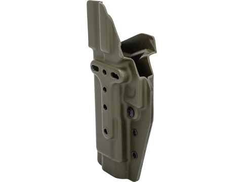 MC Kydex Airsoft Elite Series Pistol Holster for Glock 17/22/33 (Model: OD Green / No Attachment / Right Hand)