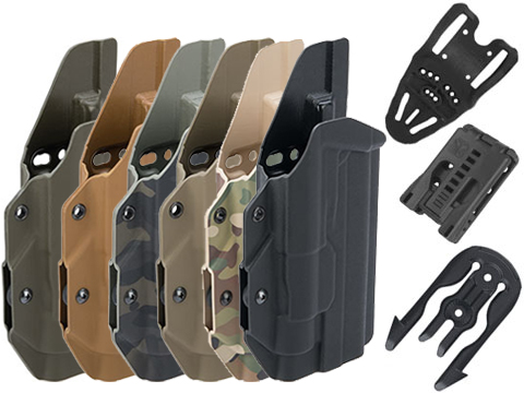 MC Kydex Airsoft Elite Series Pistol Holster for 2011 / Hi-Capa Series w/ TLR-1 Flashlight