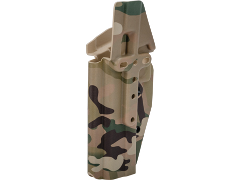 MC Kydex Airsoft Elite Series Pistol Holster for 2011 / Hi-Capa Series (Model: Multicam / No Attachment / Right Hand)