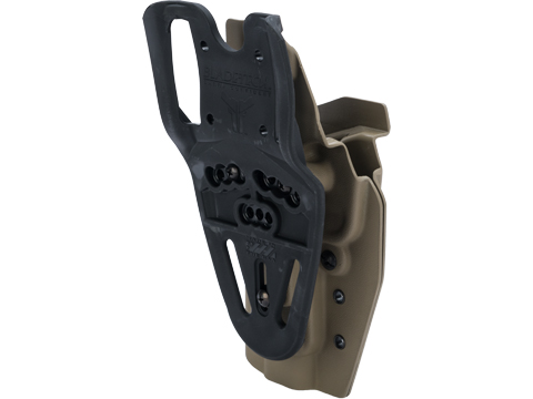MC Kydex Airsoft Elite Series Pistol Holster for FNX 45 Pistols (Model: Flat Dark Earth / Blade Tech Duty Drop / Right Hand)