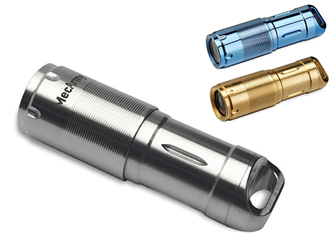 MecArmy illumineX-X2S Stainless Steel EDC Flashlight
