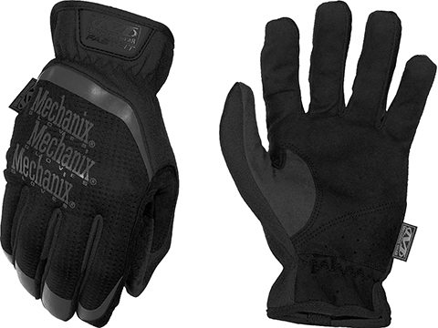 Mechanix Wear FastFit Tactical Touch Screen Gloves (Color: Black / Medium)