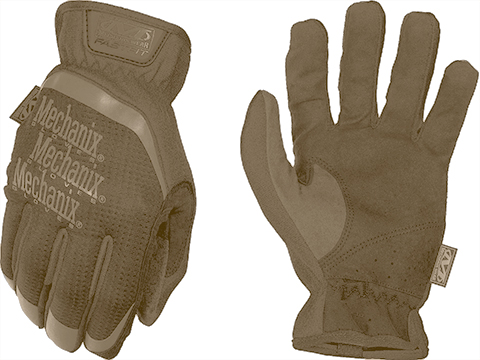 Mechanix Wear FastFit Tactical Touch Screen Gloves (Color: Coyote / Medium)