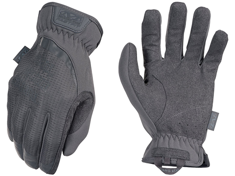 Mechanix Wear FastFit Tactical Touch Screen Gloves (Color: Wolf Grey / Medium)
