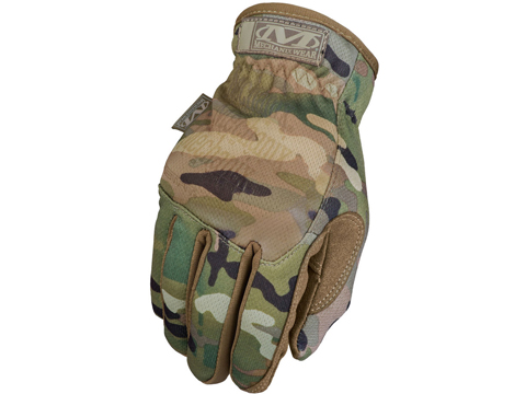 Mechanix FastFit Tactical Touch Screen Gloves(Color: Multicam / Large)