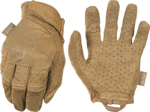 Mechanix Specialty Vent Covert Tactical Gloves (Color: Coyote / Medium)