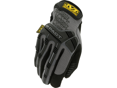 Mechanix M-Pact Tactical Gloves (Color: Grey / Medium)