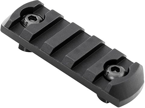 Mission First Tactical Tekko Aluminum M-LOK Rail Segment (Length: 5 slots)