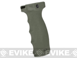 Mission First Tactical REACT Regular Ergonomic Vertical Grip - Foliage Green