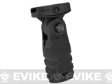 Mission First Tactical REACT Folding Vertical Grip (Color: Black)