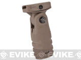 Mission First Tactical REACT Folding Vertical Grip - Flat Dark Earth