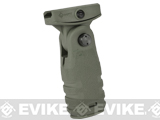 Mission First Tactical REACT Folding Vertical Grip - Foliage Green