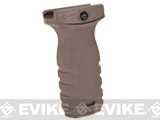 Mission First Tactical REACT Short Vertical Grip (Color: Flat Dark Earth)