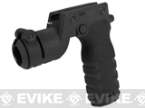 Mission First Tactical REACT Torch Grip - Black