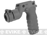 Mission First Tactical REACT Torch Grip - Grey