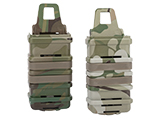Fast Hard Shell Magazine Holsters Set of 2 for MP7 MP5 Pistol SMG (Color: Camo)