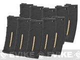 Evike.com BAMF 190rd Polymer Mid-Cap Magazine for M4 / M16 Series Airsoft AEG Rifles - Black (10 pack)