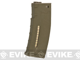 Evike.com BAMF 190rd Polymer Mid-Cap Magazine for M4 / M16 Series Airsoft AEG Rifles - Tan